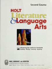 Cover of: Holt Literature and Language Arts 2nd Course, Ca Edition | Kylene Beers