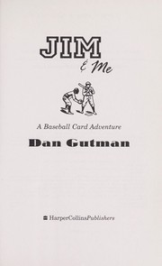 Cover of: Jim & me: a baseball card adventure