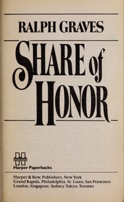 Cover of: Share of honor | Ralph Graves