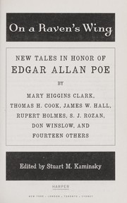 Cover of: On a raven's wing : new tales in honor of Edgar Allan Poe