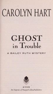 Cover of: Ghost in trouble