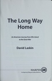 Cover of: The long way home | David Laskin