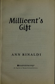 Cover of: Millicent's gift | Ann Rinaldi