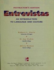 Cover of: Entrevistas | Davis, Robert L.