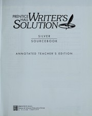 Cover of: Writer's Solution (Silver Sourcebook) |
