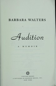 Cover of: Audition : a memoir