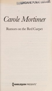 Rumors on the red carpet & The talk of Hollywood