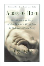 Cover of: Acres of hope | Patty Anglin