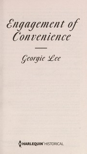 Cover of: Engagement of convenience | Georgie Lee