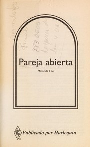 Cover of: Pareja Abierta  (Asking For Trouble) (Harlequin Bianca, No 33360) | Lee