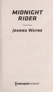 Cover of: Midnight rider | Joanna Wayne