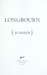 Cover of: Longbourn | Jo Baker