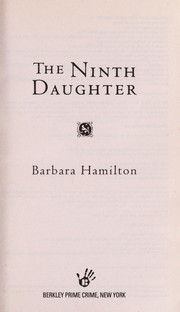 Cover of: The ninth daughter | Barbara Hamilton