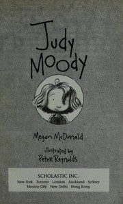 Cover of: Judy Moody |