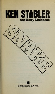 Cover of: Snake | Ken Stabler