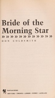 Cover of: Bride of the Morning Star