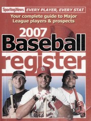 Cover of: Baseball Register 2007 | Sporting News