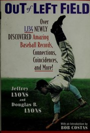 Cover of: Out of left field | Jeffrey Lyons