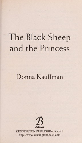 The black sheep and the princess by Donna Kauffman