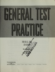 Cover of: General test practice for 101 U.S. jobs