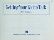 Cover of: Getting your kid to talk