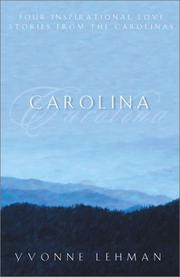 Cover of: Carolina