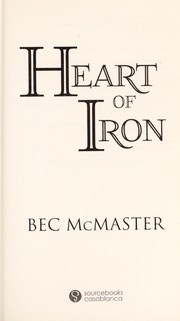Cover of: Heart of iron | Bec McMaster