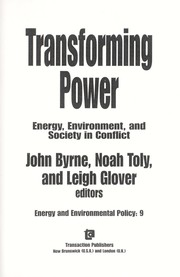 Cover of: Transforming power