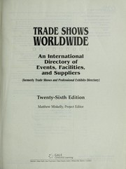 Cover of: Trade Shows Worldwide |