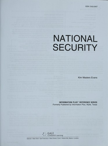 National security by Kim Masters Evans