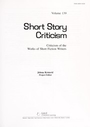 Cover of: Short story criticism | Jelena O. Krstovic