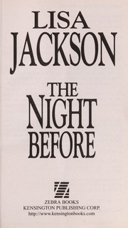 Cover of: The night before