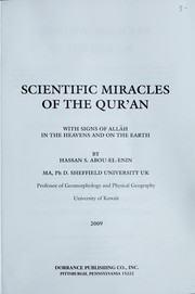 Cover of: Scientic miracles of the qur