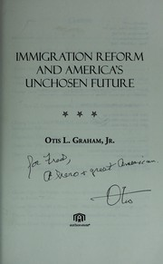 Cover of: Immigration reform and America