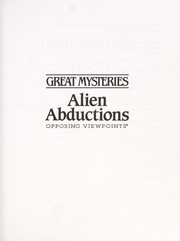 Cover of: Alien abductions | Patricia D. Netzley