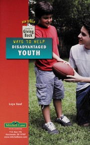 Cover of: Ways to help disadvantaged youth | Laya Saul