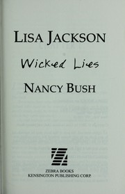 Cover of: Wicked lies