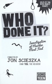 Cover of: Who done it? | Jon Scieszka