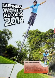 Cover of: Guinness world records 2014