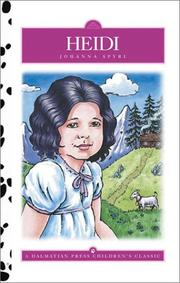 Cover of: Heidi by adapted by Mary Caprio, illustrated by Jon Sayer and Kathryn Knight