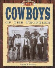 Cowboys of the frontier by Charles W. Sundling