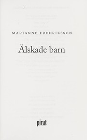 Cover of: Älskade barn