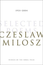 Cover of: Selected Poems: 1931-2004