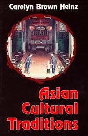 Cover of: Asian cultural traditions
