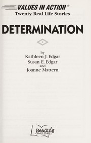 Cover of: Determination