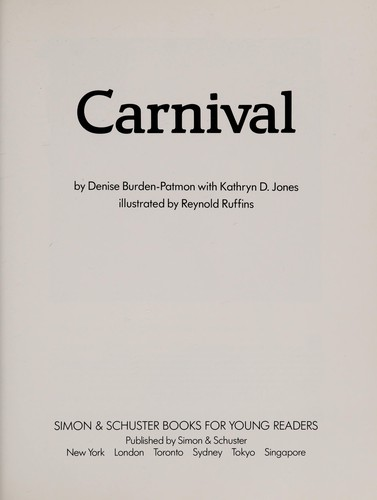 Carnival by Denise Burden-Patmore