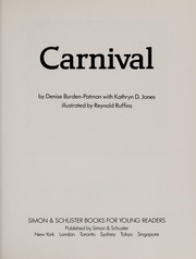 Cover of: Carnival | Denise Burden-Patmore