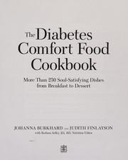 Cover of: The diabetes comfort food cookbook