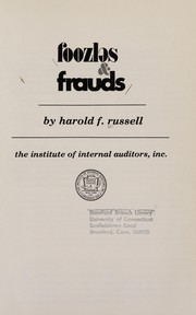 Cover of: Foozles & frauds | Harold F. Russell