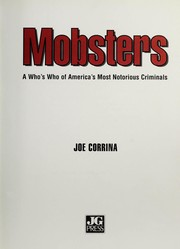 Cover of: Mobsters | Joe Corrina